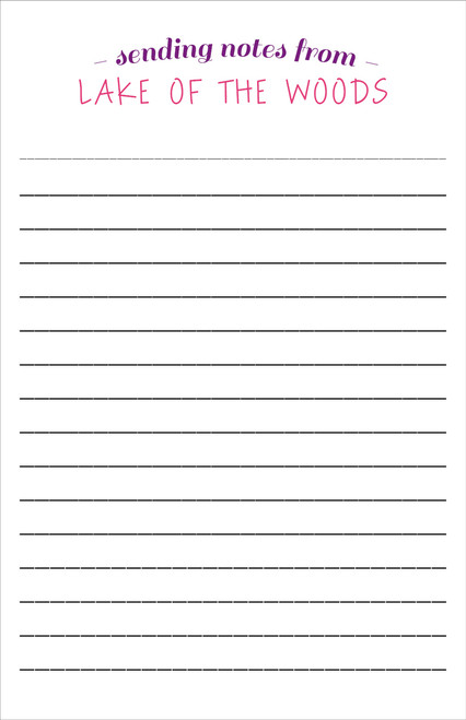 Arching Camp Letter Sheets