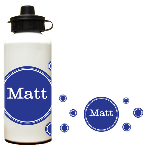 Solid Dots Water Bottle