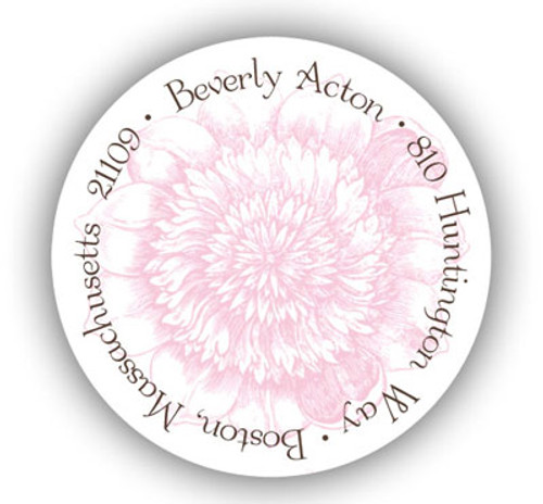 Berry Blossom Address Label