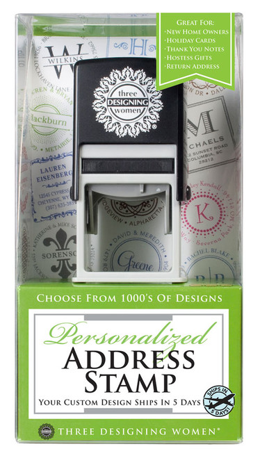 Self Inking Stamp Gift Certificate -Address