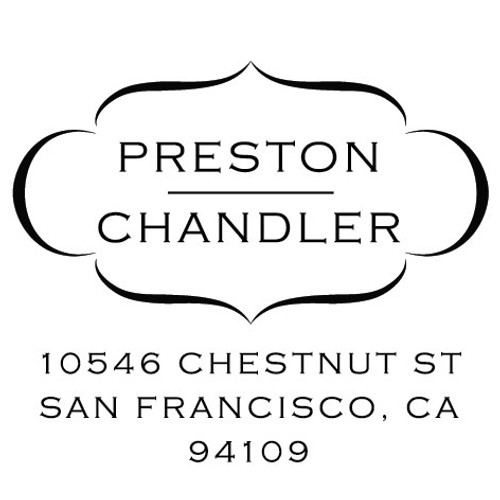 Preston Chandler Self Inking Stamp