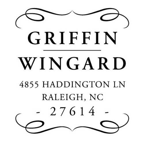 Griffin Wingard Self Inking Stamp