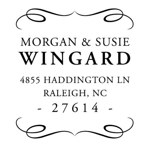 Wingard Self Inking Stamp