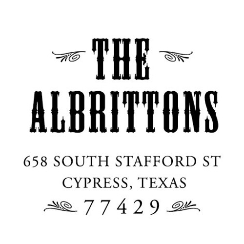 Albritton Self Inking Stamp