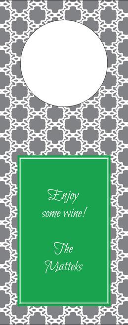 Eyelit Lace Wine Tag