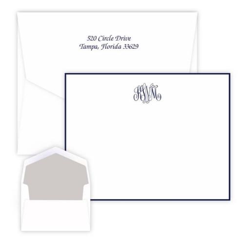 Delavan Monogram Card