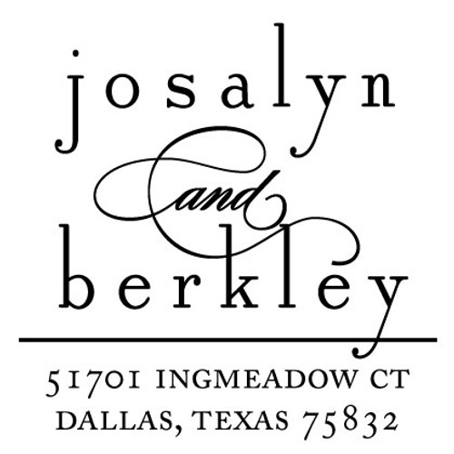 Josalyn Berkley Self Inking Stamp