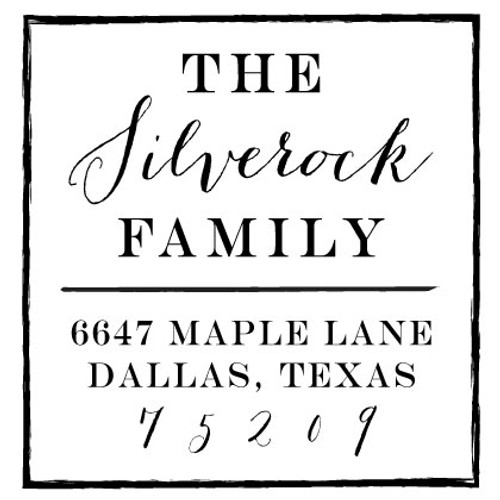 Silverock Inking Stamp