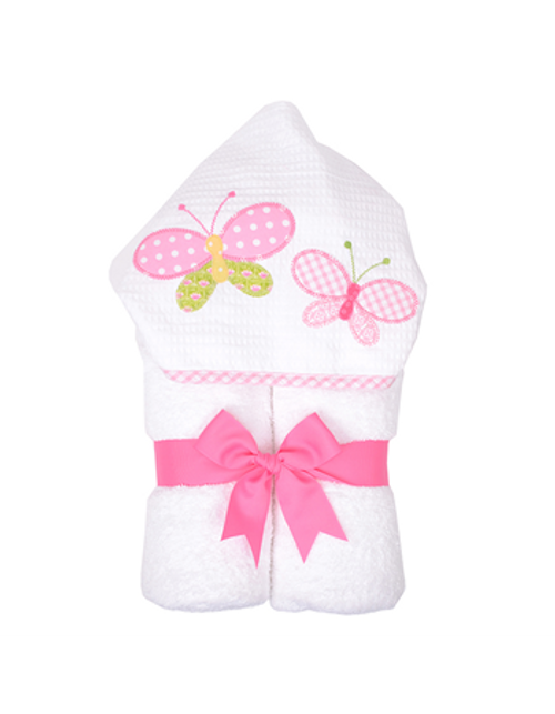 Butterfly Kisses Hooded Towel