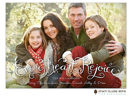 Every Heart Rejoice Holiday Card