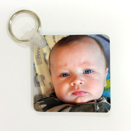 Square Keychain - Create Your Own