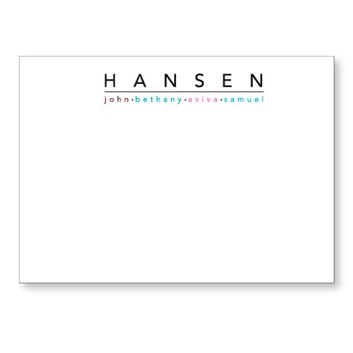 Hansen Flat Note