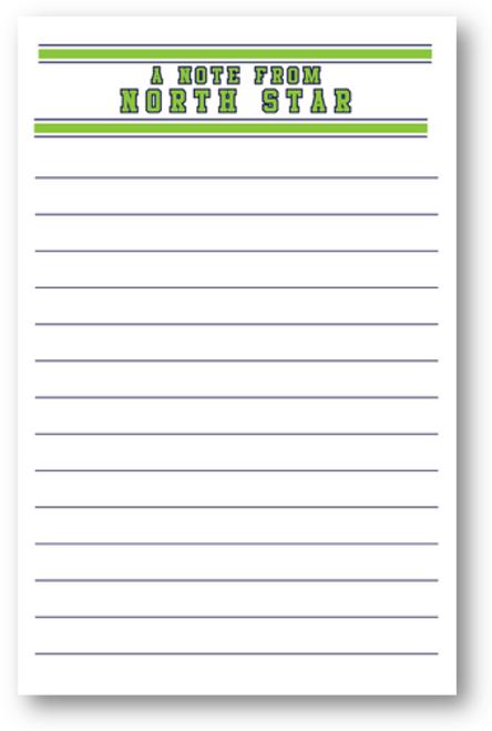 Varsity Camp Letter Sheets