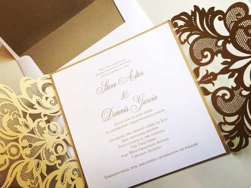 Dennis and Steve: Wedding Invitation