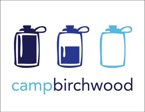 Waterbottle Camp Postcard