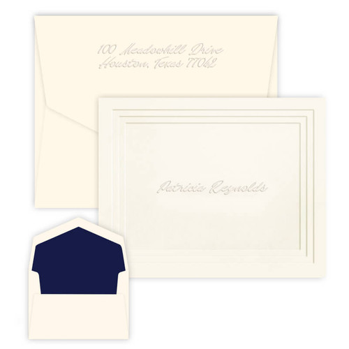 Embossed Plateau Note