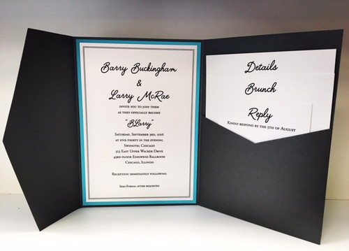 Barry and Larry : Wedding Invitation