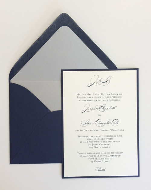 Jordan and Ian: Wedding Invitations