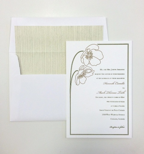 Hannah and Mark: Wedding Invitations