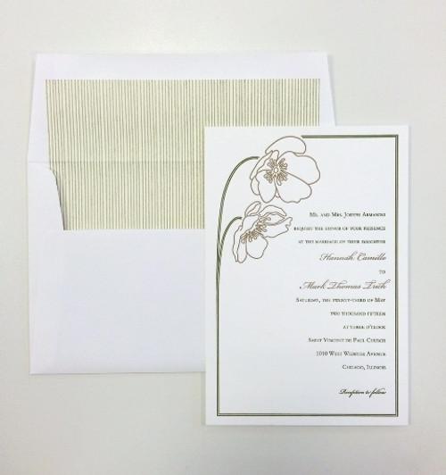 Hannah and Mark: Wedding Invitations