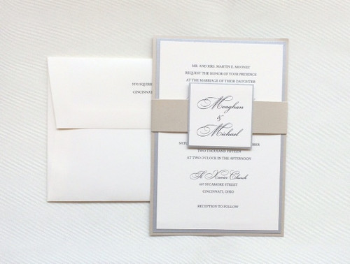 Meaghan and Michael: Wedding Invitations