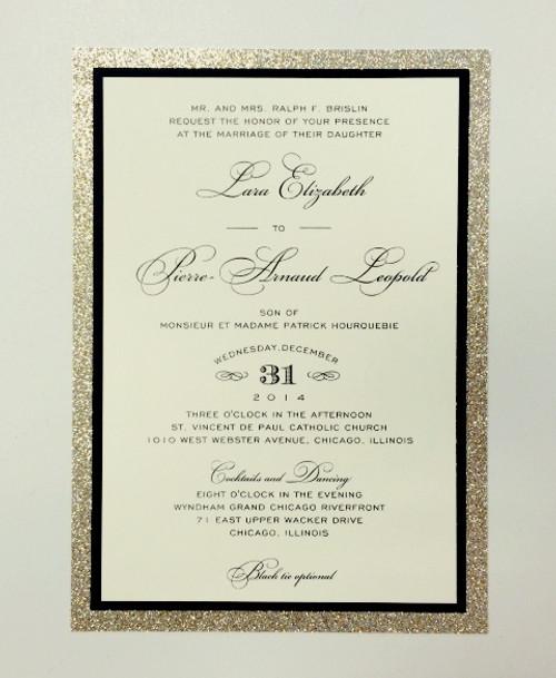 Lara and Pierre: Wedding Invitation