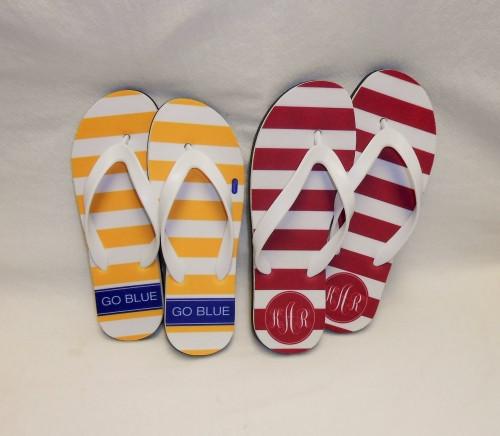 Women's Collegiate Flip Flops