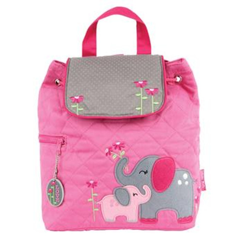 Elephant Quilted Backpack