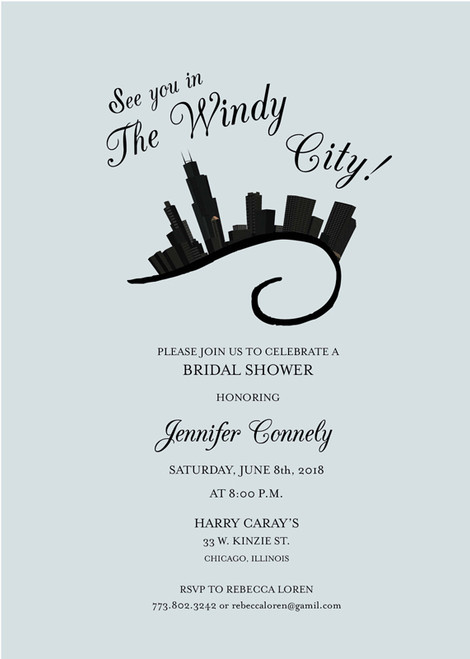 Windy City Invitation