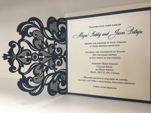 Mimi and Jason: Wedding Invitation
