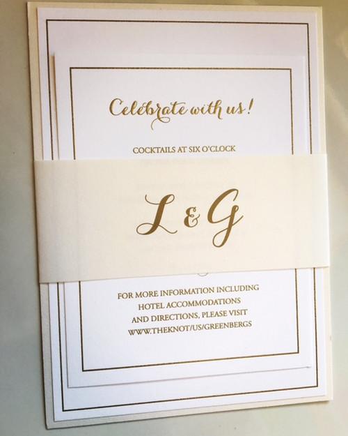 Lauren and Grant: Wedding Invitations