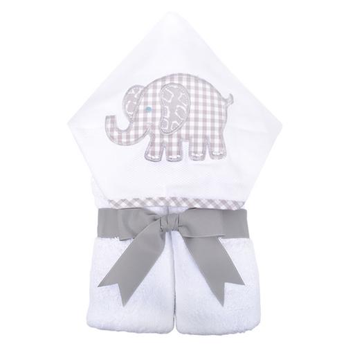 Gray Elephant Hooded Towel