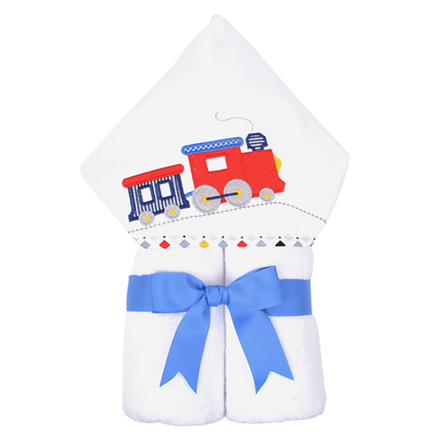 Choo Choo Train Hooded Towel