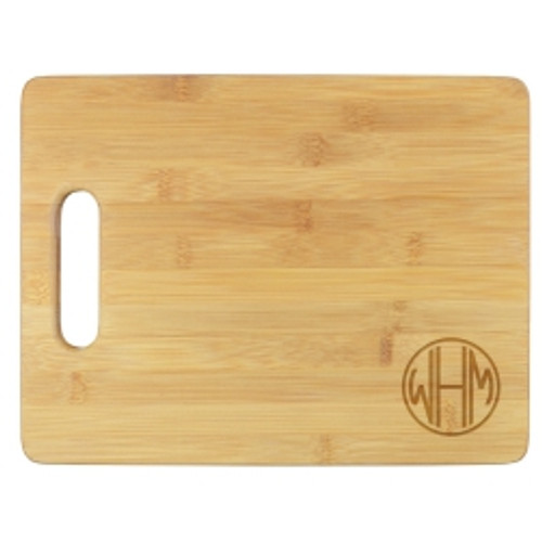 Henley Monogram Cutting Board