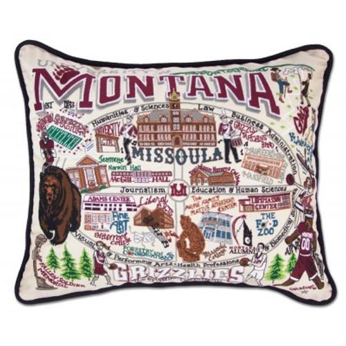 University of Montana Pillow