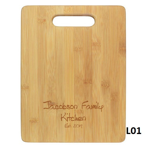 Merida Cutting Board - 4 Fonts
