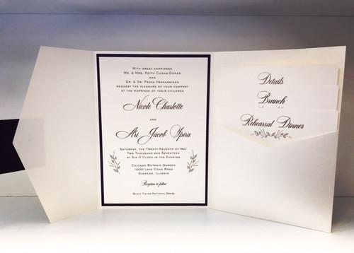 Nicole and Ari: Wedding Invitation