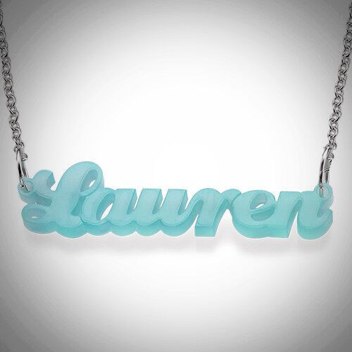 b01605ca0c6a7 Carrie Name Necklace- Multiple Metals - Noteworthy Notes