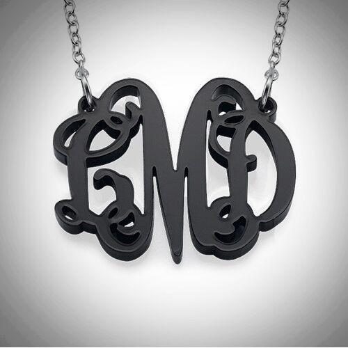 Acrylic Monogram Necklace