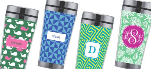 Personalized Travel Mug - Assorted Options