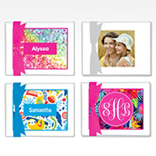 Personalized Note Cards - Assorted Patterns
