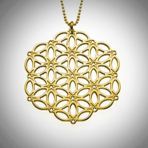 Circle of Life Necklace- Multiple Metals