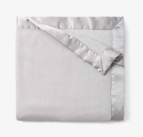 Light Gray Silky Blanket