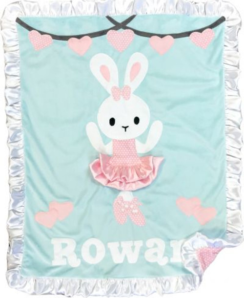 Bunny Ballerina Blanket