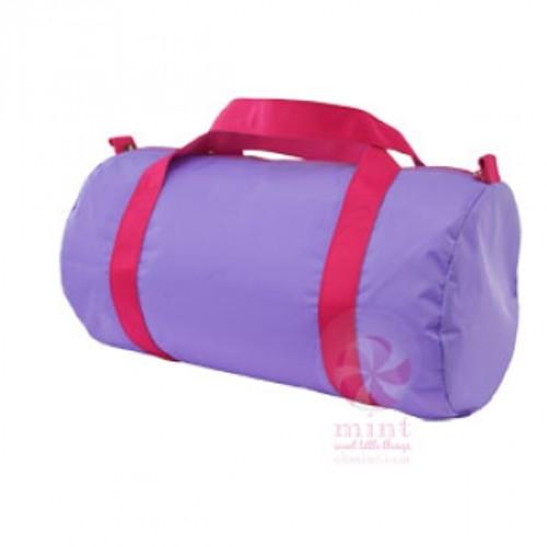 Lavender and Pink Duffel Bag