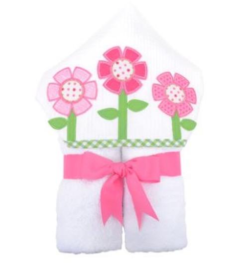 Flower Hooded Towel