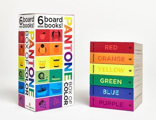 Pantone Box Of Color: 6 Mini Board Books