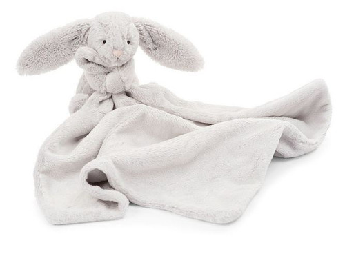 JellyCat Bashful Gray Bunny Soother