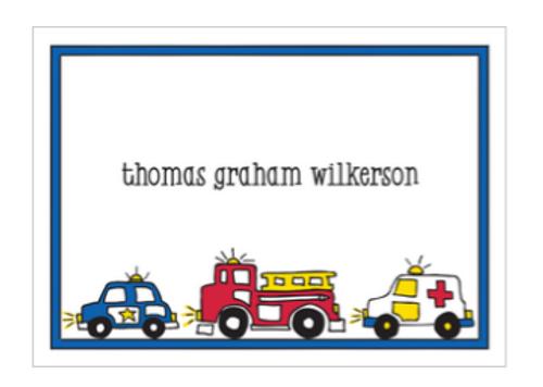 Emergency Gift Sticker