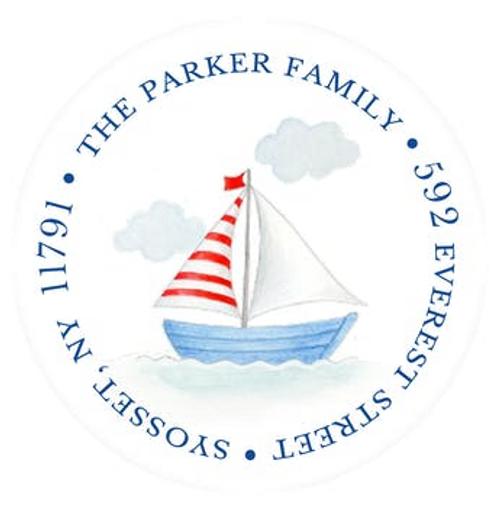 Smooth Sailing Address Label